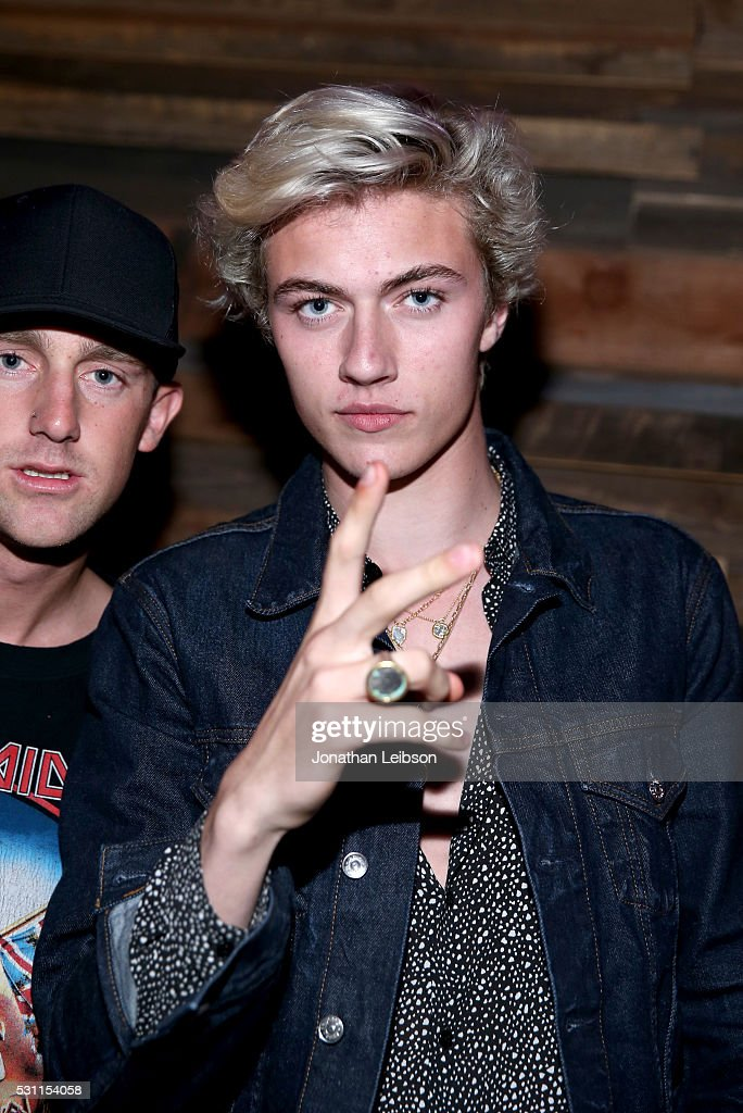 Model Lucky Blue Smith attends the NYLON Young Hollywood Party Presented by BCBGeneration at HYDE Sunset: Kitchen + Cocktails on May 12, 2016 in West Hollywood, California.