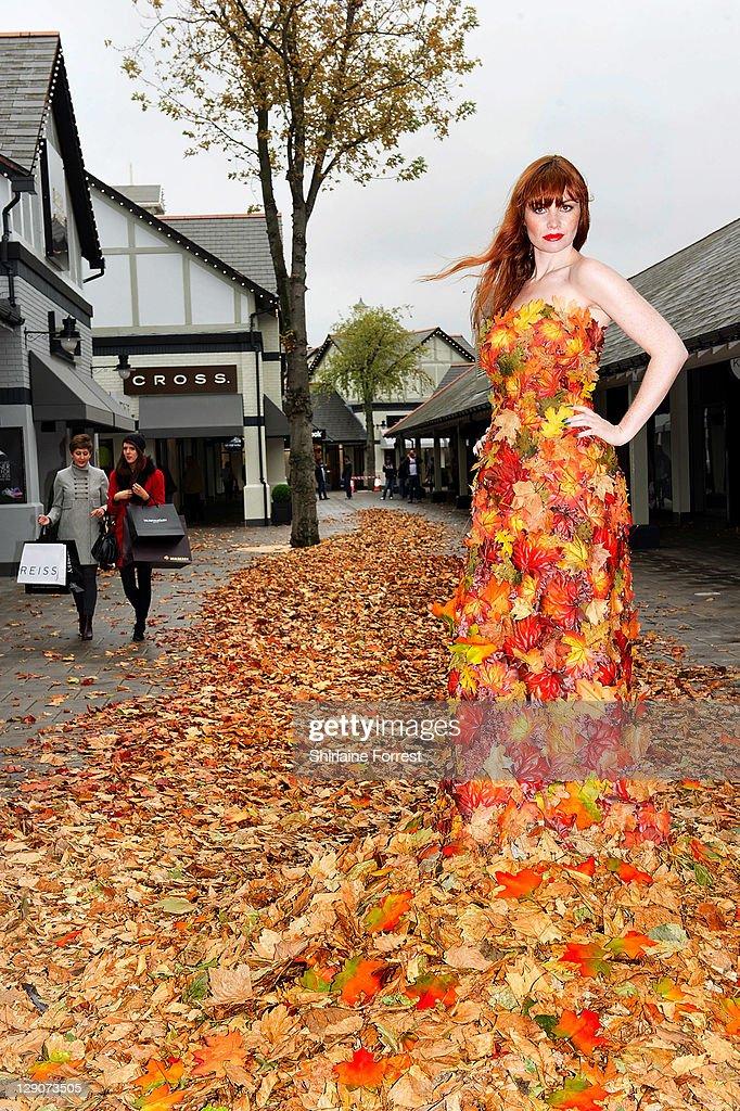 Fall Fashion Arrives At McArthurglen Cheshire Oaks : News Photo