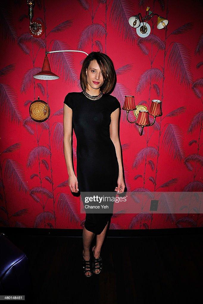 Model Ludmilla Perignon attends 2nd Supermodel Saturday at No.8 on March 22, 2014 in New York City.