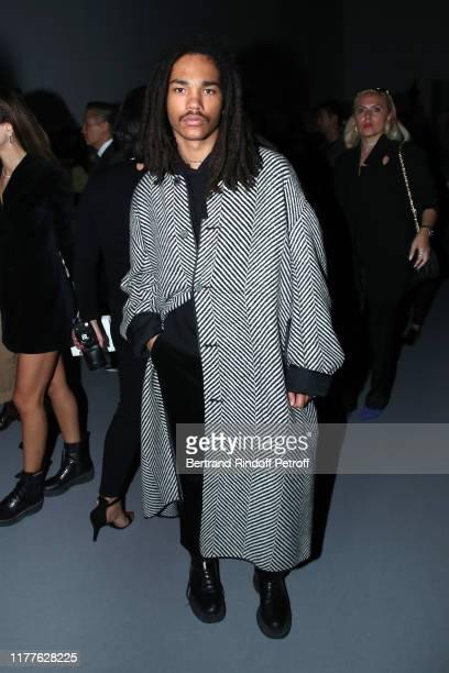 Model Luka Sabbat attend the Haider Ackermann Womenswear Spring/Summer 2020 show as part of Paris Fashion Week on September 28, 2019 in Paris, France.