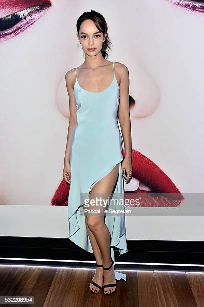 Model Luma Grothe attends the L'Oreal Party during the annual 69th Cannes Film Festival at on May 18 2016 in Cannes France