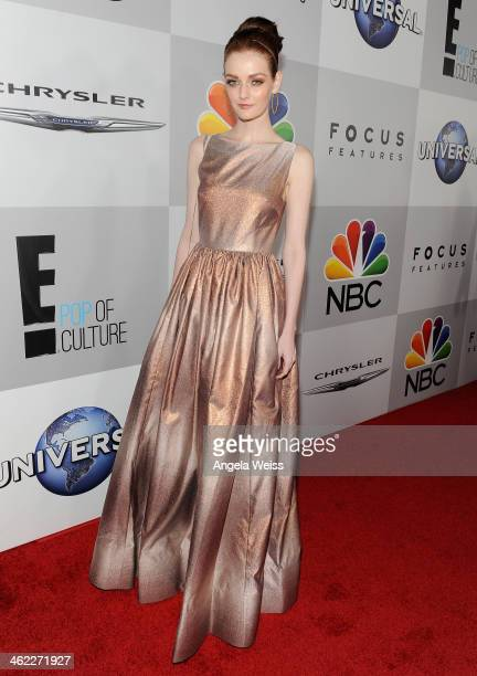 Model Lydia Hearst attends the Universal NBC Focus Features E sponsored by Chrysler viewing and after party with Gold Meets Golden held at The...