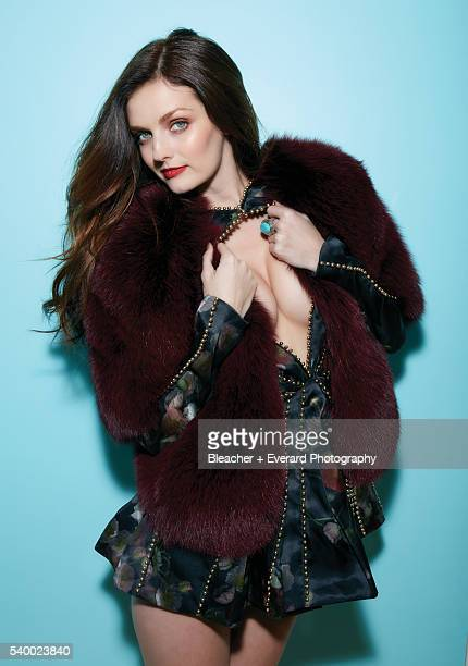 Model Lydia Hearst is photographed for Esquire Mexico on September 22 2014 in New York City