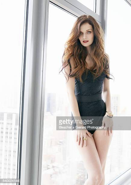 Model Lydia Hearst is photographed for Esquire Mexico on September 22 2014 in New York City PUBLISHED IMAGE