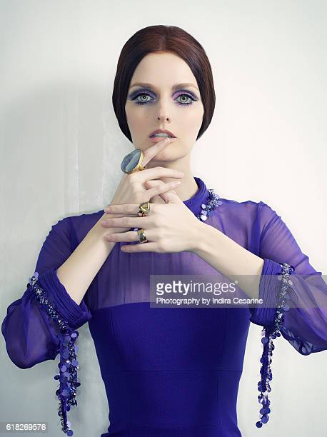 Model Lydia Hearst is photographed for The Untitled Magazine on June 1 2015 in New York City PUBLISHED IMAGE CREDIT MUST READ Indira Cesarine/The...