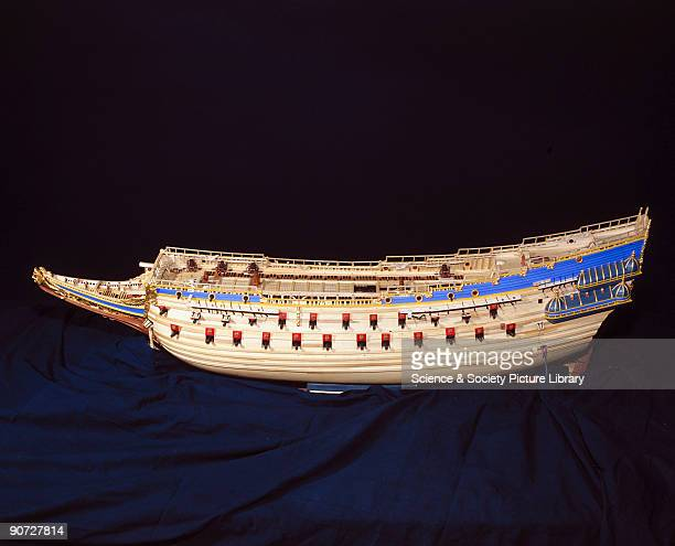Model made in 1981 during construction. This Swedish 64-gun warship sank on her maiden voyage in 1628, 1500 yards from shore. The cause of her loss...
