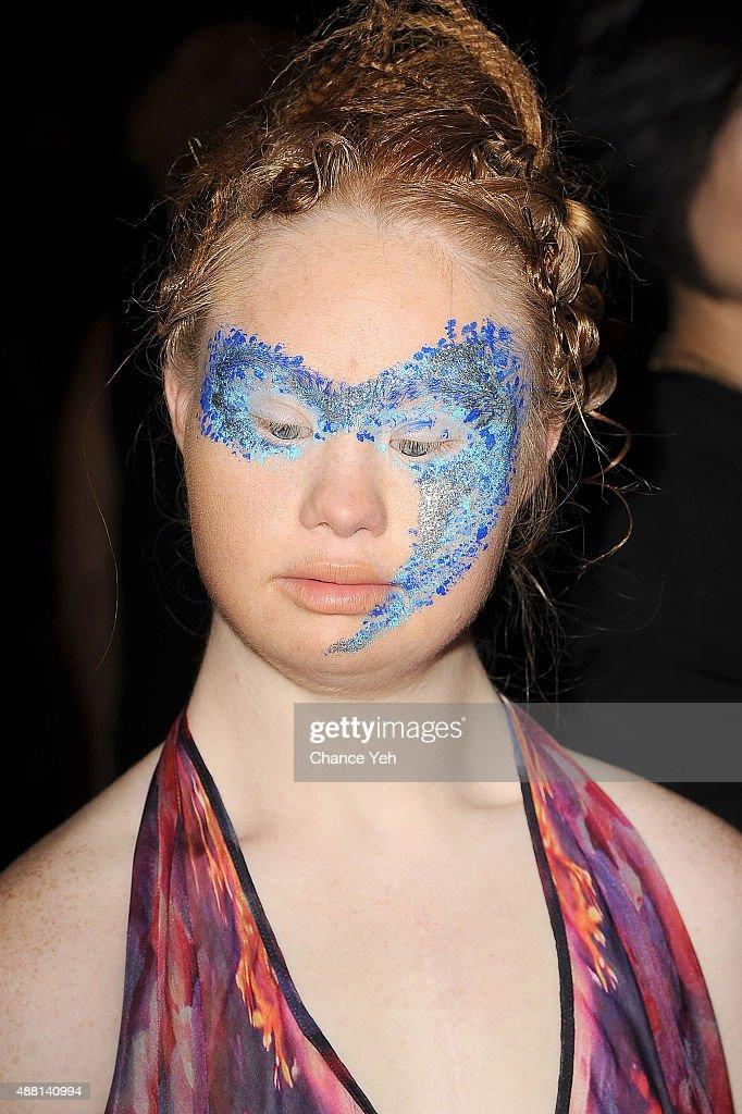 Hendrik Vermeulen - Backstage- Spring 2016 New York Fashion Week : News Photo