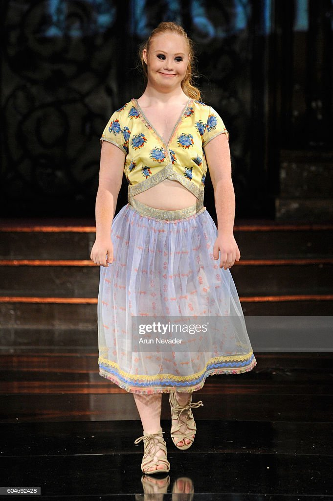 Rutu Bhonsle' at Art Hearts Fashion NYFW The Shows Presented by AIDS Healthcare Foundation : News Photo