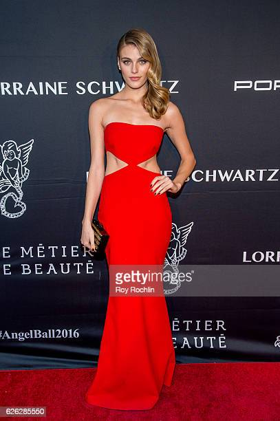 Model Madison Headrick attends the 2016 Angel Ball at Cipriani Wall Street on November 21 2016 in New York City