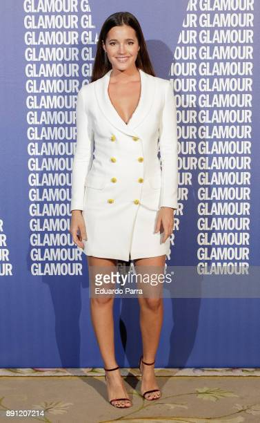 Model Malena Costa attends the Glamour Magazine Awards photocall at Ritz hotel on December 12 2017 in Madrid Spain