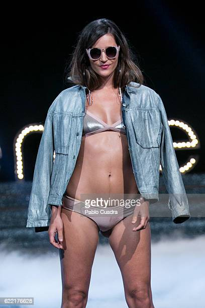Model Malena Costa walks on the runway at the Women'Secret fashion show at Fine Arts Circle on November 10 2016 in Madrid Spain