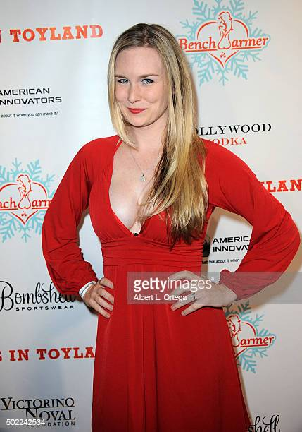 Model Malorie Mackey arrives for the 2015 Babes In Toyland And BenchWarmer Charity Toy Drive held at Avalon on December 9 2015 in Hollywood California