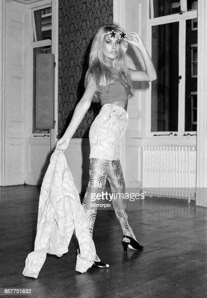 Model Mandy Smith 10th October 1987