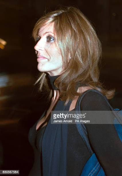Model Mandy Smith arriving at the Cinnamon Club at The Old Westminster Library in London for a celebrity launch dinner and cocktail party