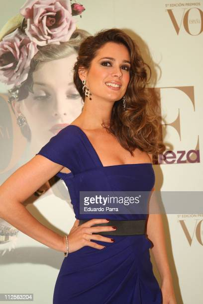 Model Mar Saura at Vogue Awards Party on October 25 2007 in Madrid Spain