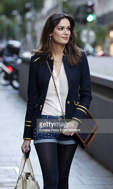 Model Mar Saura is seen on October 3 2012 in Madrid Spain