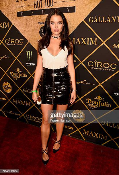 Model Mara Teigen attends the 2016 MAXIM Hot 100 Party at the Hollywood Palladium on July 30 2016 in Los Angeles California