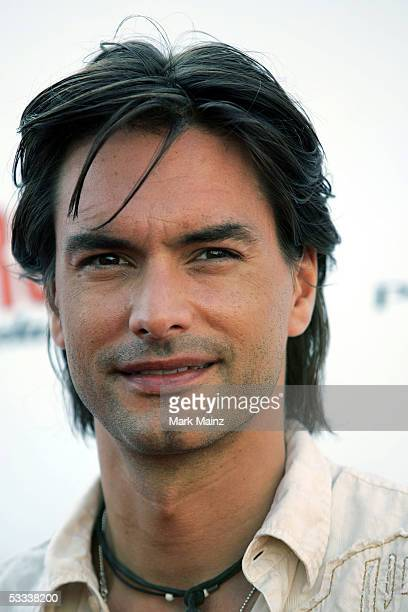 Model Marcus Schenkenberg arrives at the Comedy Central Roast of Pamela Anderson at Sony Studios on August 7 2005 in Culver City California