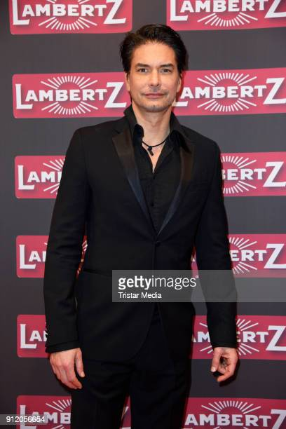 Model Marcus Schenkenberg during the Lambertz Monday Night 2018 at Alter Wartesaal on January 29 2018 in Cologne Germany