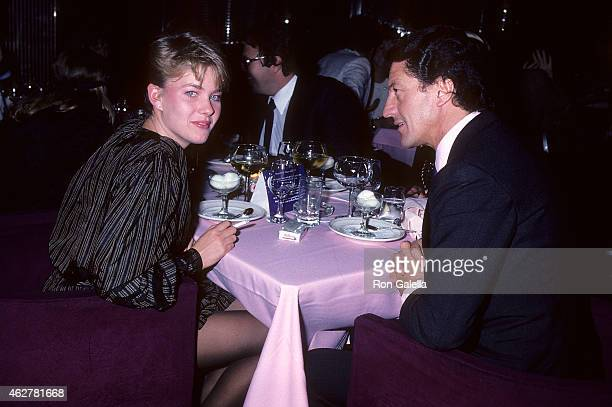Model Marcy Schlobohm and businessman Philippe Junot on October 23 1981 at Regine's in New York City