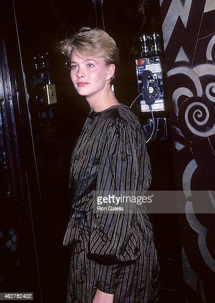 Model Marcy Schlobohm on October 23 1981 at Regine's in New York City