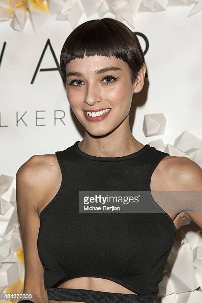 Model Margaux Brooke arrives at Soho Desert House With Bacardi Day 1 on April 11 2014 in La Quinta California