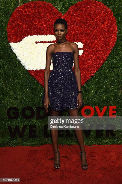 Model Maria Borges attends God's Love We Deliver Golden Heart Awards at Spring Studio on October 15 2015 in New York City