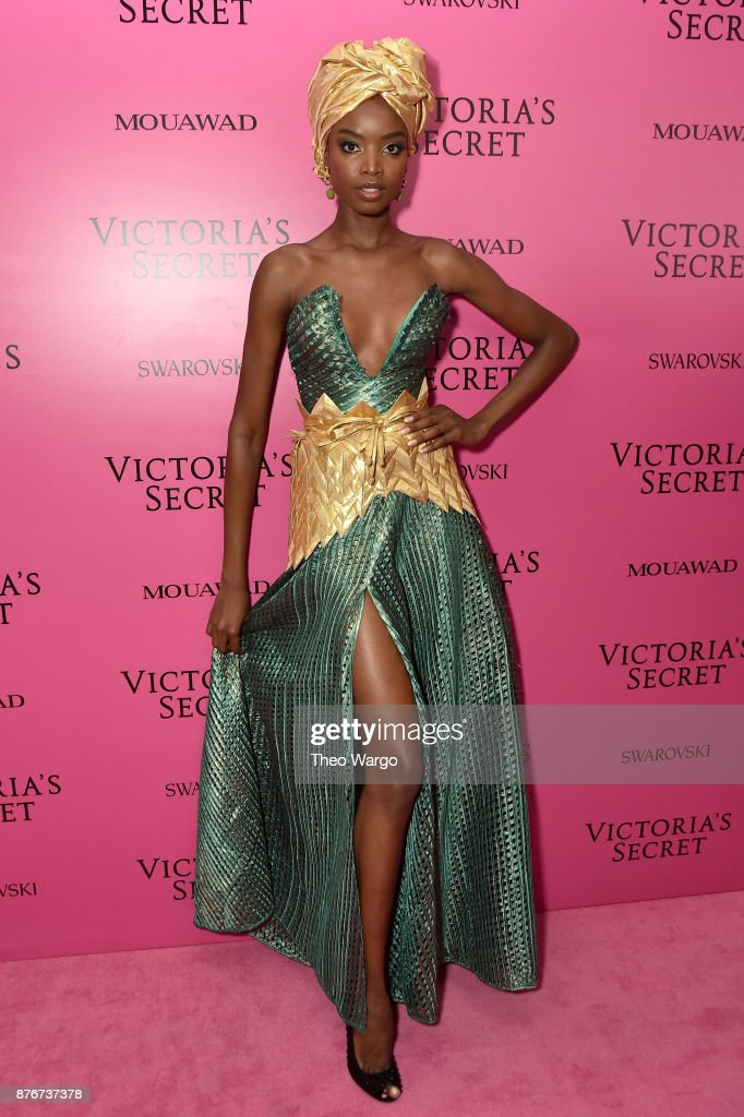 Model Maria Borges attends the 2017 Victoria's Secret Fashion Show In Shanghai After Party at Mercedes-Benz Arena on November 20, 2017 in Shanghai, China.