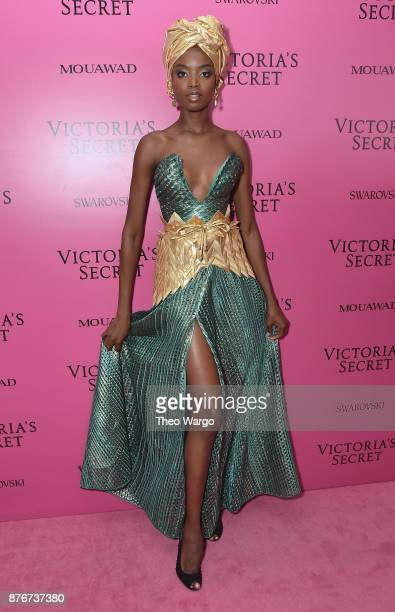 Model Maria Borges attends the 2017 Victoria's Secret Fashion Show In Shanghai After Party at MercedesBenz Arena on November 20 2017 in Shanghai China