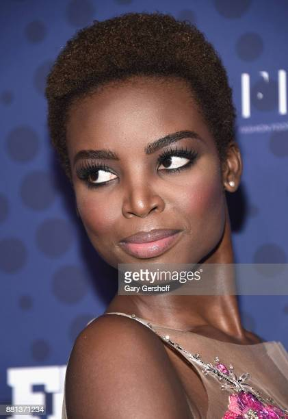 Model Maria Borges attends the 31st FN Achievement Awards at IAC Headquarters on November 28 2017 in New York City