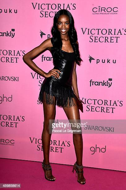 Model Maria Borges attends the after party for the annual Victoria's Secret fashion show at Earls Court on December 2, 2014 in London, England.