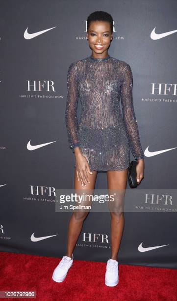 Model Maria Borges attends the Harlem Fashion Row at Capitale on September 4 2018 in New York City