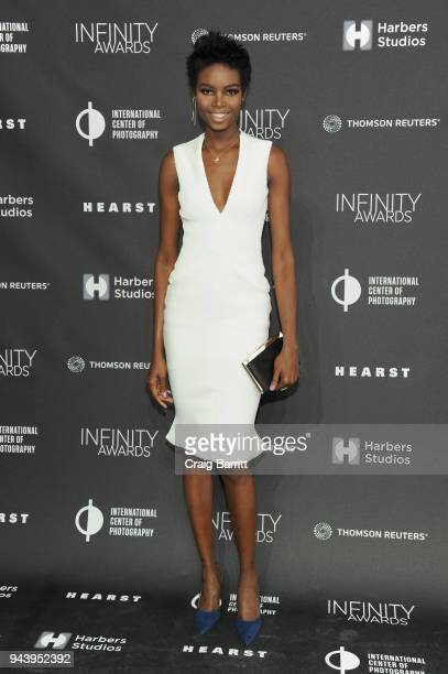 Model Maria Borges attends the International Center Of Photography's 2018 Infinity Awards on April 9 2018 in New York City