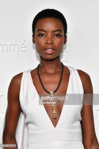 Model Maria Borges attends the NYFW Kickoff Party A Celebration Of Personal Style hosted by E ELLE IMG and sponsored by TRESEMME on September 6 2017...