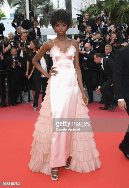 Model Maria Borges attends the screening of Solo A Star Wars Story during the 71st annual Cannes Film Festival at Palais des Festivals on May 15 2018...