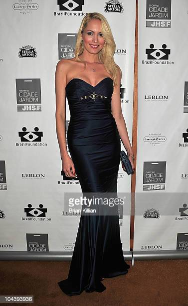 Model Maria Helena Vianna attends the 8th annual Brazil Foundation Gala after party at the Boom Boom Room on September 23 2010 in New York City