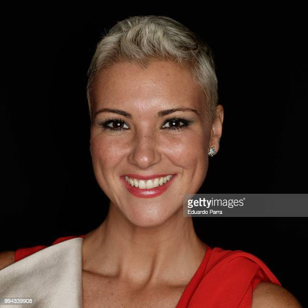 Model Maria Jesus Ruiz attends Pedro del Hierro show at Mercedes Benz Fashion Week Madrid Spring/ Summer 2019 on July 8 2018 in Madrid Spain