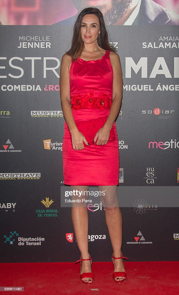 'Nuestros Amantes' Madrid Premiere : News Photo