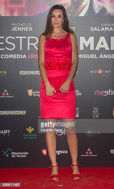 Model Maria Jose Besora attends the 'Nuestros Amantes' premiere at Palafox cinema on May 30 2016 in Madrid Spain