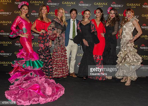 Model Maria Jose Suarez model Desire Cordero Makoke bullfighter Jose Antonio Canales Rivera actress Inma del Moral model Patricia Yurena model Marisa...