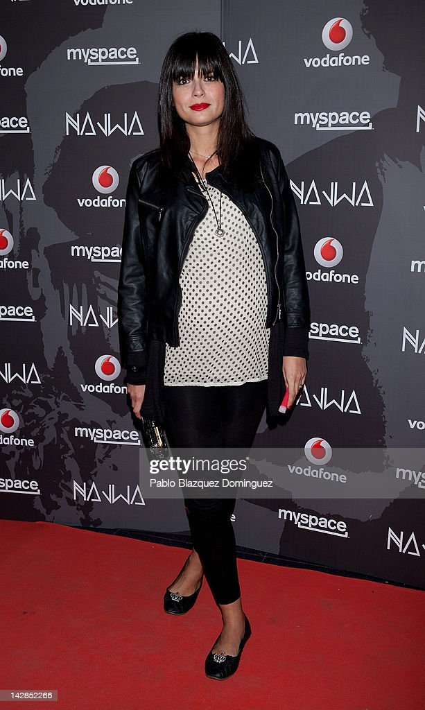 Model Maria Reyes attends album presentation 'Donde lucen los volcanes' during Vodafone Secret Show at Joy Eslava Club on April 13, 2012 in Madrid, Spain.