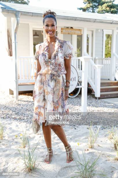 Model Marie Amière During Til Schweiger S Opening Of His Barefoot Hotel On May 28