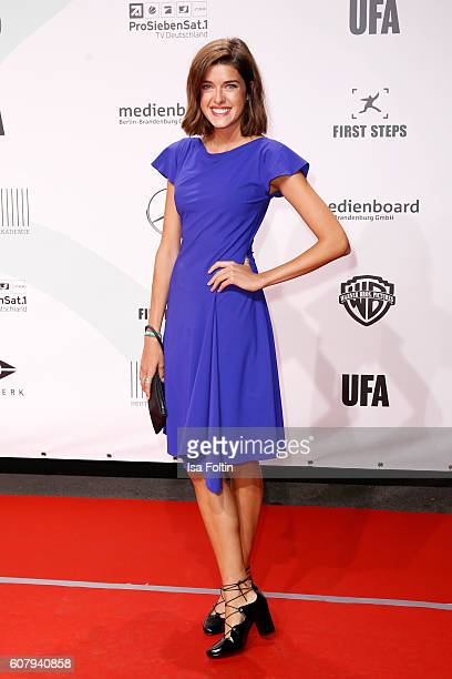 Model Marie Nasemann attends the First Steps Awards 2016 at Stage Theater on September 19 2016 in Berlin Germany