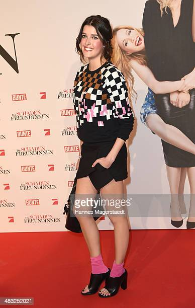 Model Marie Nasemann attends the German premiere of the film 'The Other Woman' at Mathaeser Filmpalast on April 7 2014 in Munich Germany