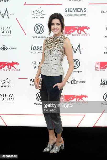 Model Marie Nasemann attends the New Faces Award Style 2017 at The Grand on November 15 2017 in Berlin Germany