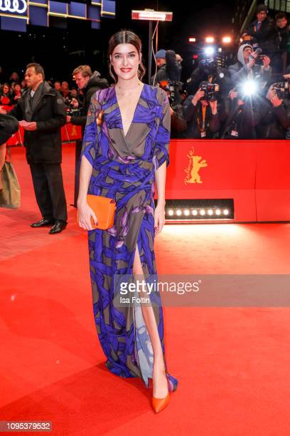 Model Marie Nasemann attends the opening ceremony and The Kindness Of Strangers premiere during the 69th Berlinale International Film Festival Berlin...