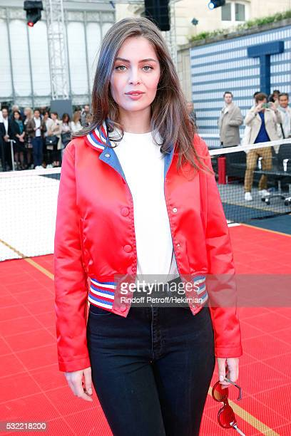 Model MarieAnge Casta attends Tommy Hilfiger hosts Tommy X Nadal Party Photocall on May 18 2016 in Paris