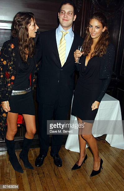 Model Marina Hanbury Lord Freddie Windsor and Rose Hanbury attend the book launch for historian Andrew Roberts new book Waterloo at the English...