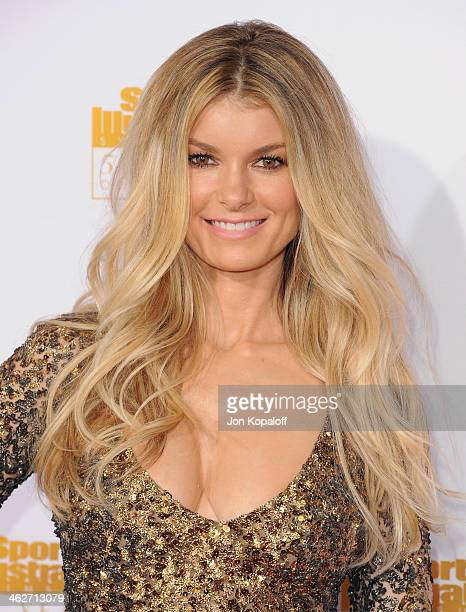Model Marisa Miller arrives at NBC And Time Inc Celebrate 50th Anniversary Of Sports Illustrated Swimsuit Issue at Dolby Theatre on January 14 2014...