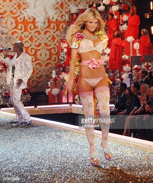 Model Marisa Miller at the 12th Annual Victorias Secret Fashion Show at The Kodak Theatre on November 15 2007 in Hollywood California